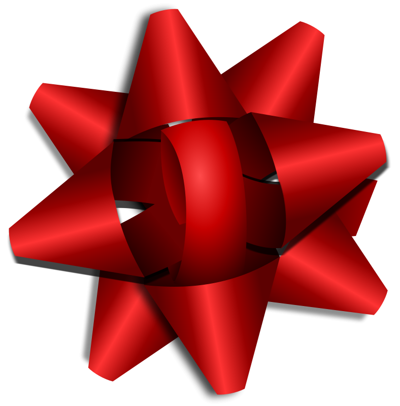 25 red star clip art.