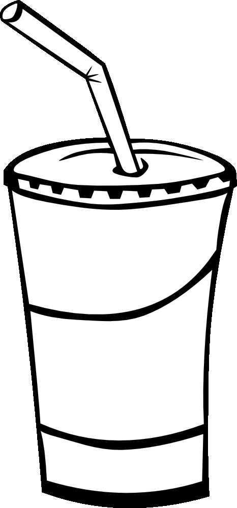 Soda Clip Art Black And White | Clipart Panda - Free ...