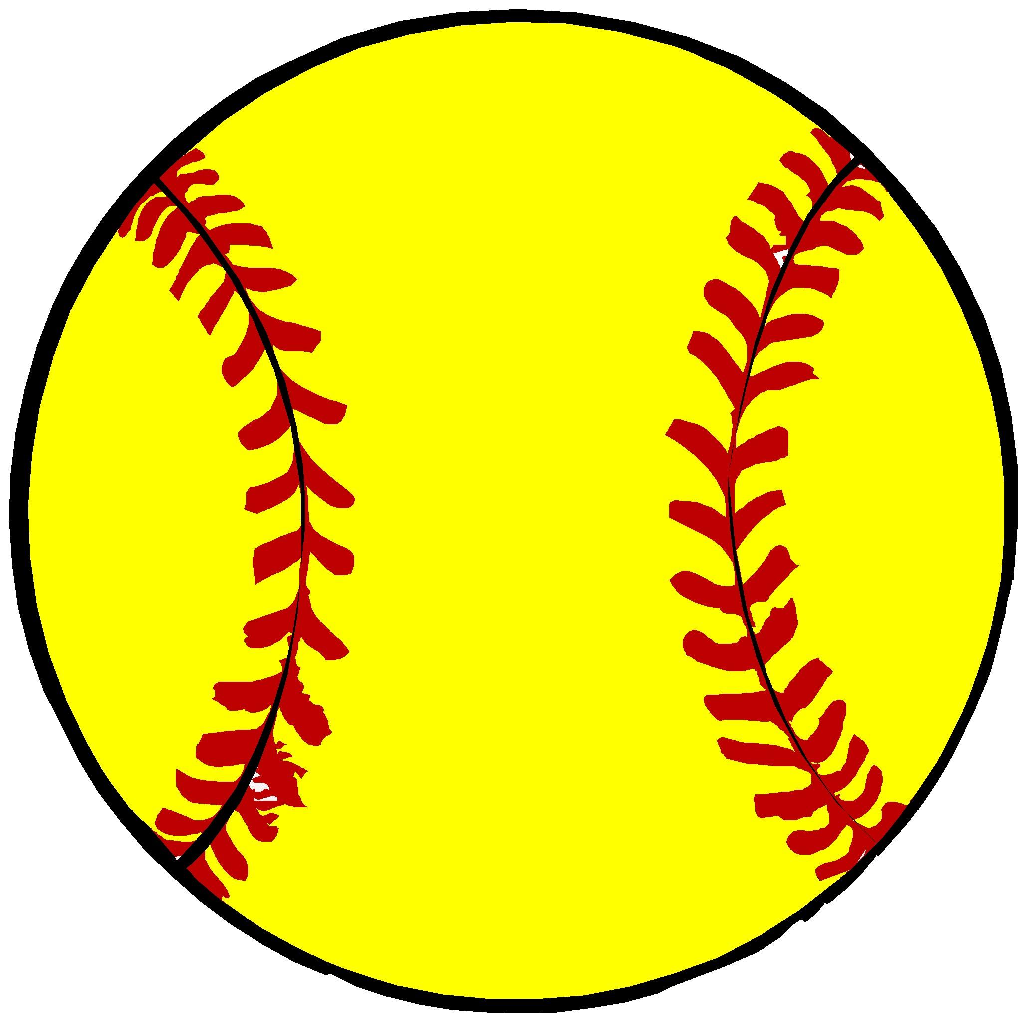 softball ball clipart .. | Clipart Panda - Free Clipart Images