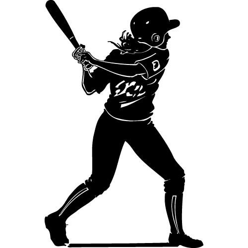Softball Clip Art Softball Clip Art Black And White