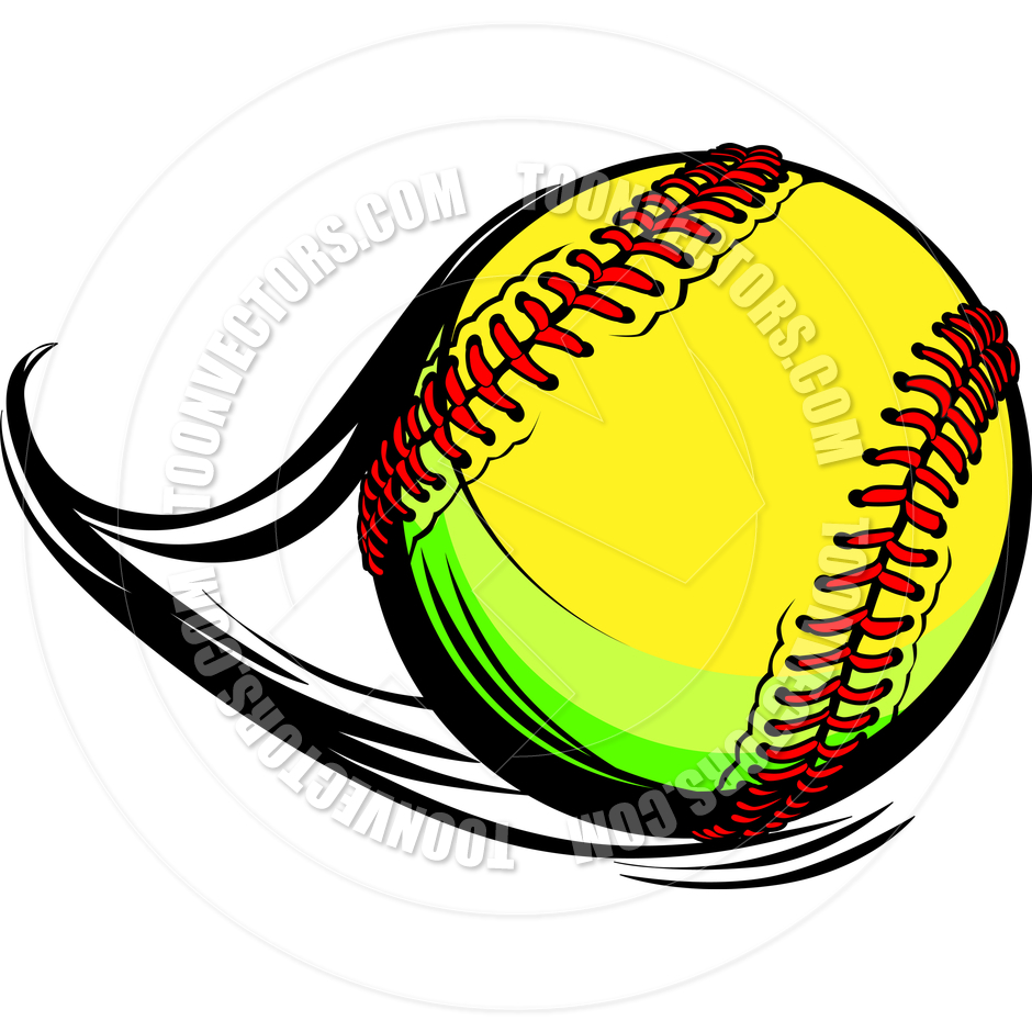 Moving fastpitch softball with clipart panda free clipart images for Softball vector free