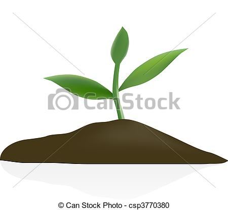 Young plant in dark soil clipart panda free clipart images for Soil clipart
