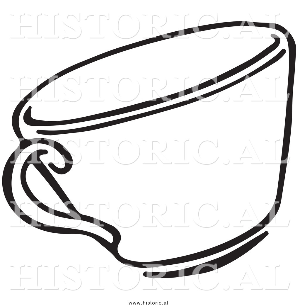 Teacup Clipart Black And White   Clipart Panda - Free Clipart Images