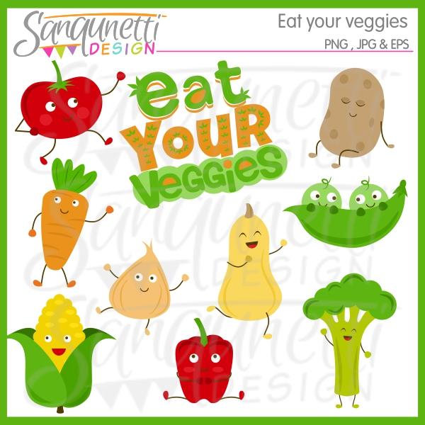 Eat Your Veggies Clipart | Clipart Panda - Free Clipart Images