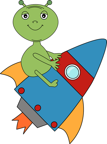 free clipart alien spaceship - photo #50