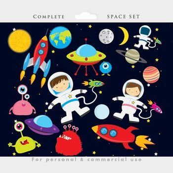 Space Clipart For Kids Free | Clipart Panda - Free Clipart ...