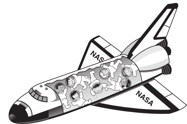 Space Shuttles Clipart - Pics about space