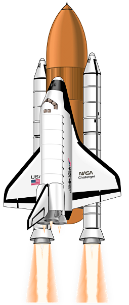Free Clip Art Of Space Shuttle