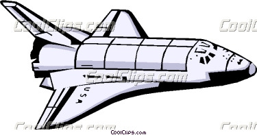 Space shuttle | Clipart Panda - Free Clipart Images