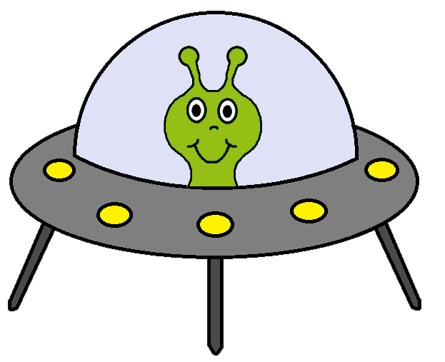 free clipart alien spaceship - photo #6