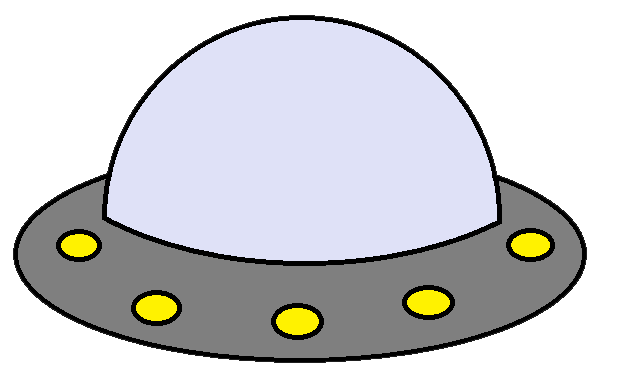 free clipart alien spaceship - photo #10