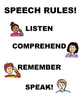 speech-rules.jpg | Clipart Panda - Free Clipart Images