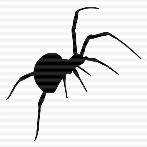 Spider Clipart Black And White | Clipart Panda - Free ...