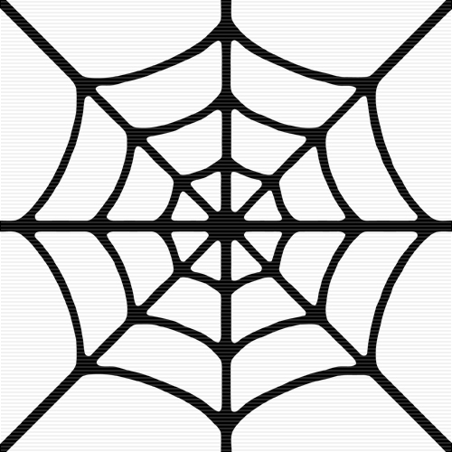 Spider web border clipart clipart panda free clipart for Easy drawing websites