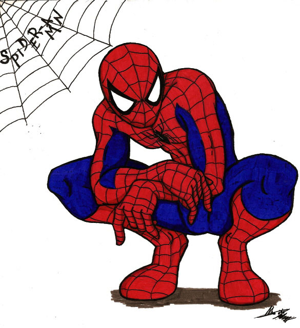 Spiderman clipart free clipart panda free clipart images - Free spiderman cartoons ...