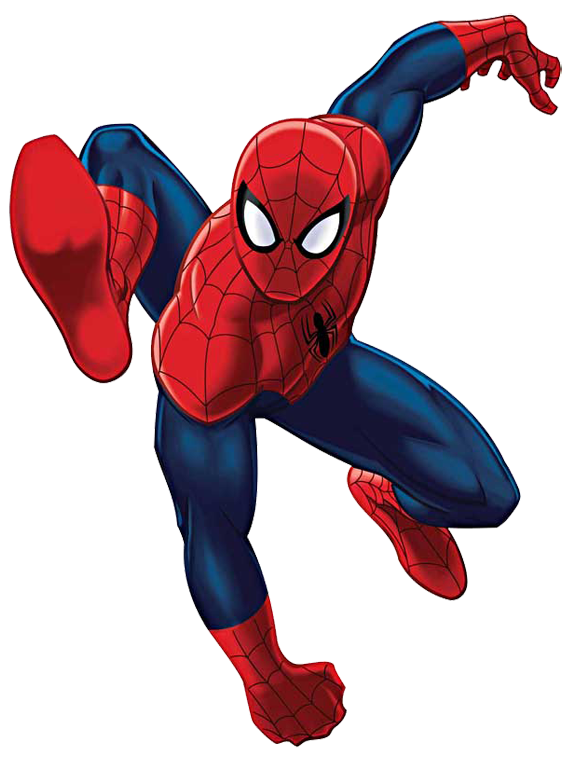 Spiderman Clipart Black And White | Clipart Panda - Free ...