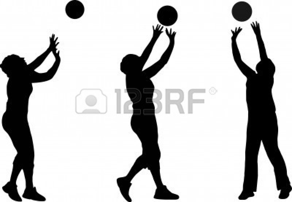 volleyball setting clipart - photo #14