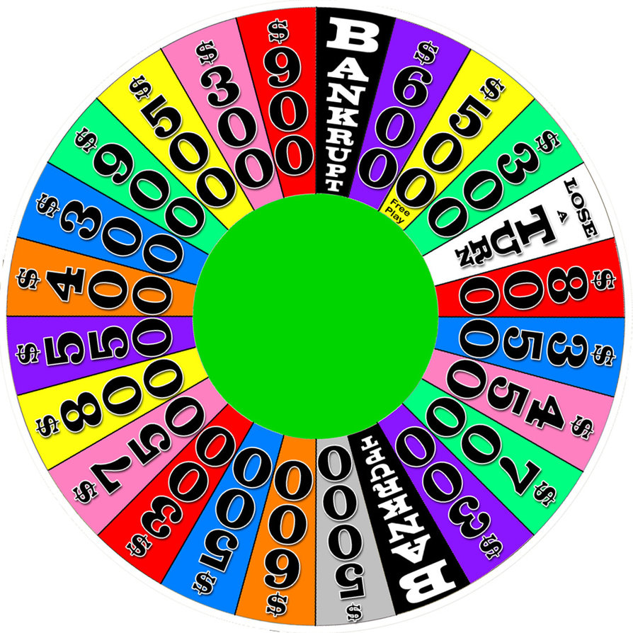 how to make a game spinner wheel