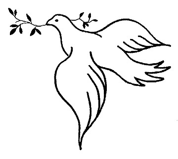 Holy Spirit Dove Drawing | Clipart Panda - Free Clipart Images