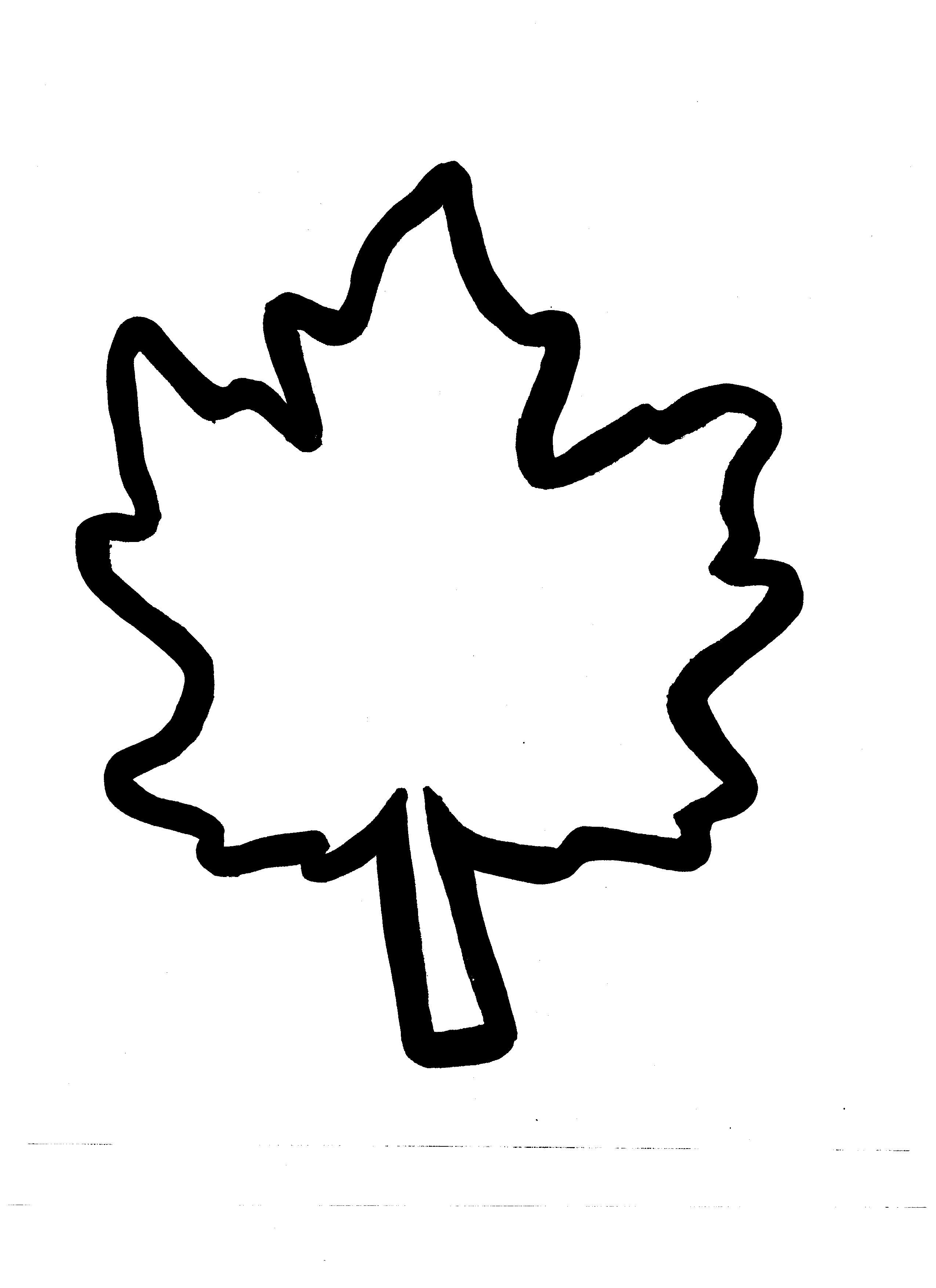 Fall Leaf Template Clipart Panda Free Clipart Images