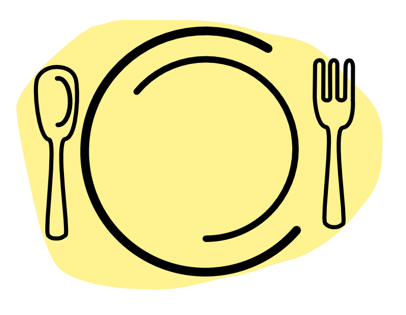 Dinner Plate Drawing | Info