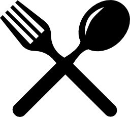 Cutlery cross couple of fork | Clipart Panda - Free ...