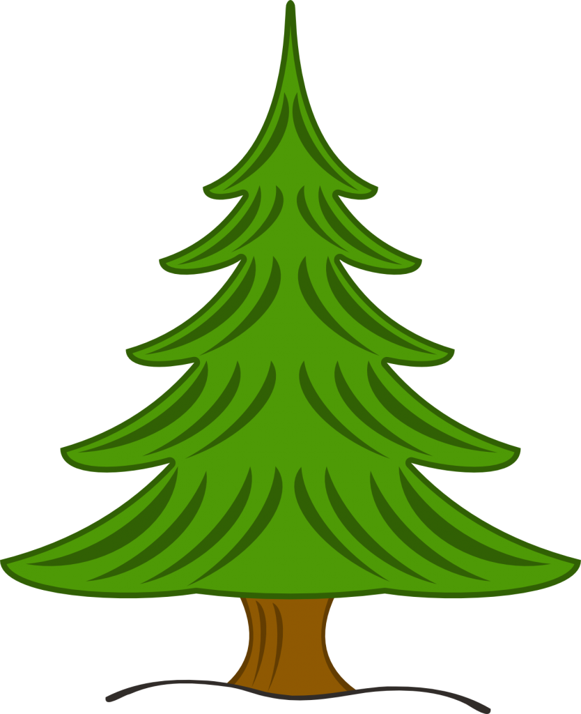 Fir Tree Clip Art Three pine trees clip art