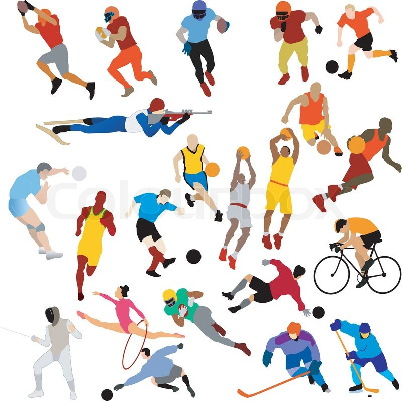 Sports Clipart Black And White Panda Free