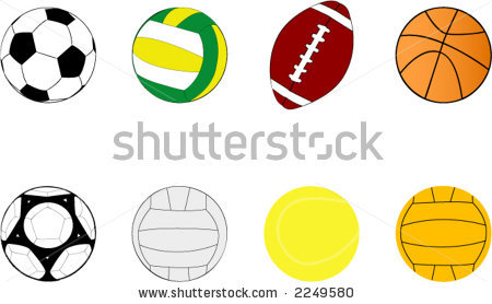 sports balls clipart clipart panda free clipart images rh clipartpanda com  cartoon sports balls clipart
