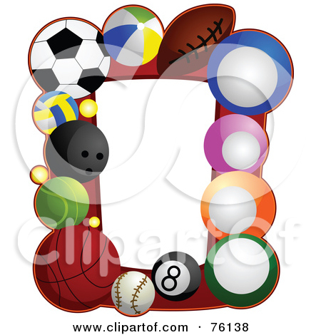 Sports Ball Frame Posters, | Clipart Panda - Free Clipart Images