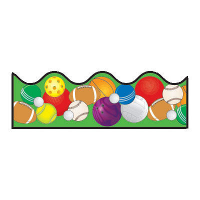 Sports Balls Clipart Borders | Clipart Panda - Free Clipart Images