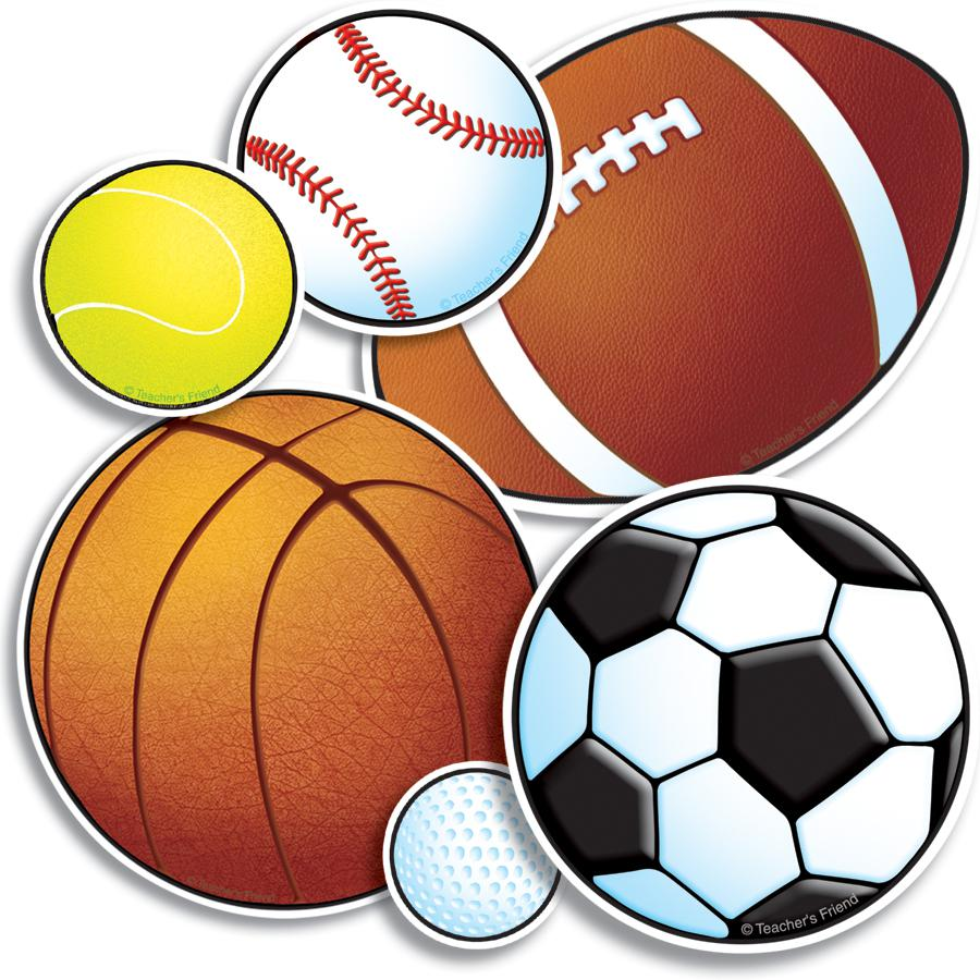 Sports Balls Clipart on Fun Spring Bulletin Boards