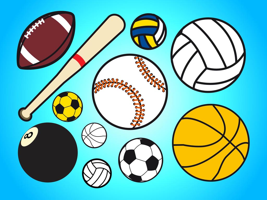 free clipart of sports equipment - photo #8
