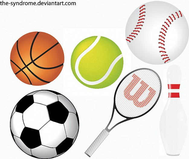 Sports Balls Vector Clipart Panda Free Clipart Images
