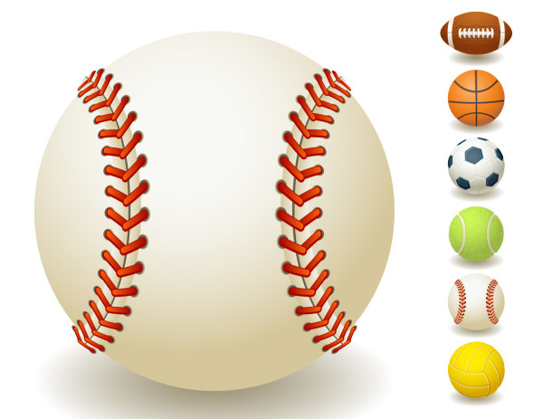 Sports Ball Vector Background Art Free Download: Clipart Panda - Free Clipart Images