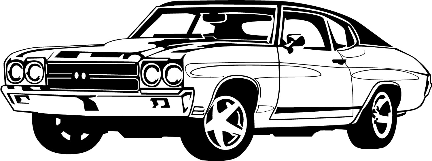 Sports Car Clipart Black And White | Clipart Panda - Free ...