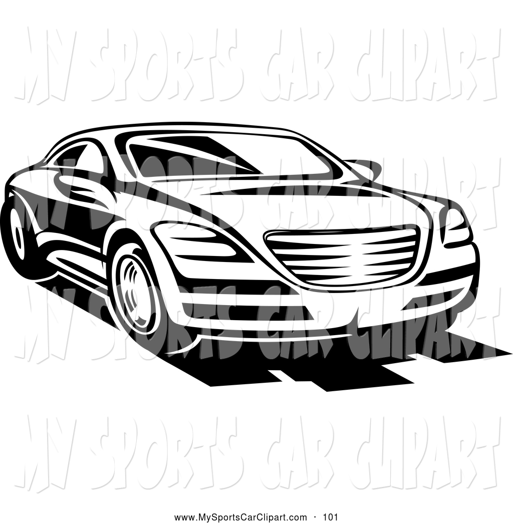sports%20car%20clipart%20black%20and%20white