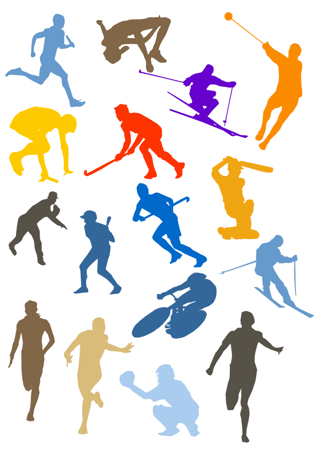 free sports graphics clipart - photo #22