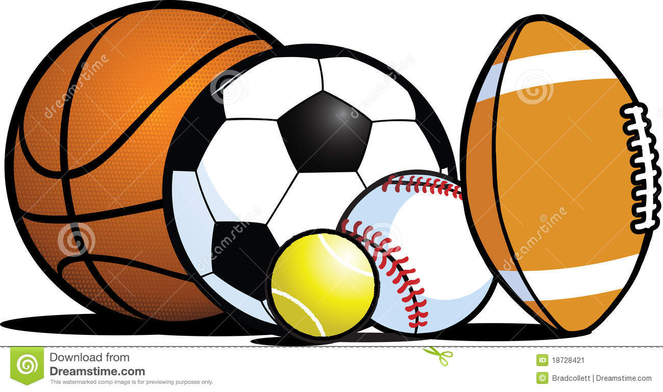 sports equipment clip art clipart panda free clipart images rh clipartpanda com Sports Clip Art Sports Clip Art