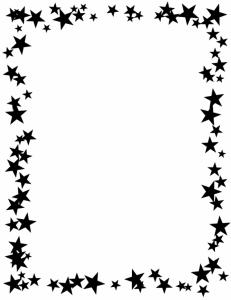 Christmas Star Border Clip Art   Clipart Panda - Free Clipart Images