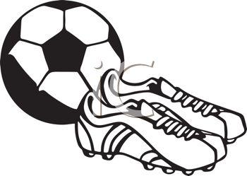 sports%20equipment%20clipart%20black%20and%20white
