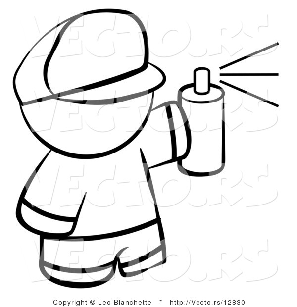 spray paint coloring pages - photo#4