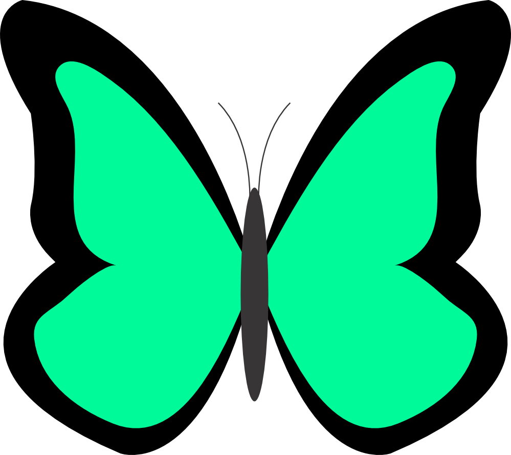 Spring Butterfly Clipart Panda