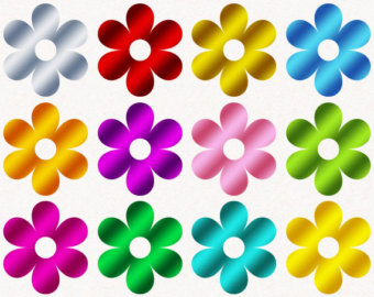Clipart Of Spring Flowers