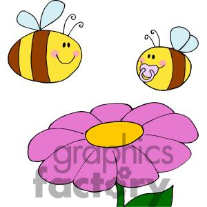 Bee And Flower Clipart Clipart Panda Free Clipart Images