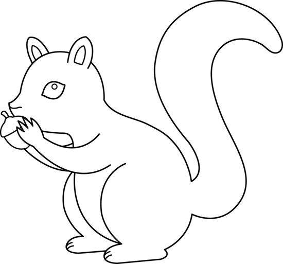 Clip Art Clipart Squirrel squirrel clip art black and white clipart panda free art