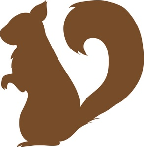 squirrel clipart clipart panda free clipart images rh clipartpanda com clip art squirrel silhouette clip art squirrel eating a nut