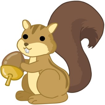 Clip Art Clipart Squirrel squirrel clipart panda free images