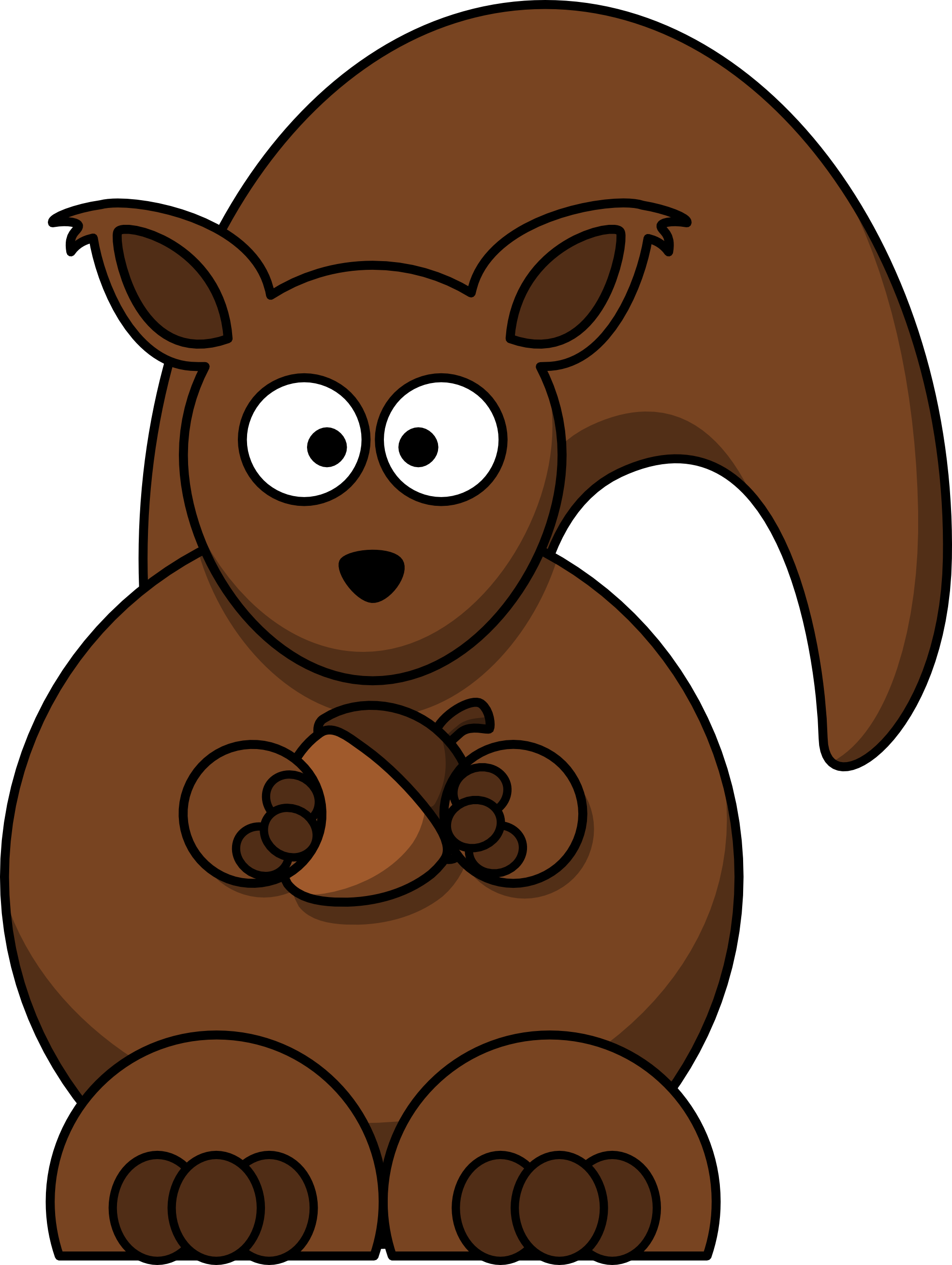 squirrel in tree clipart clipart panda free clipart images