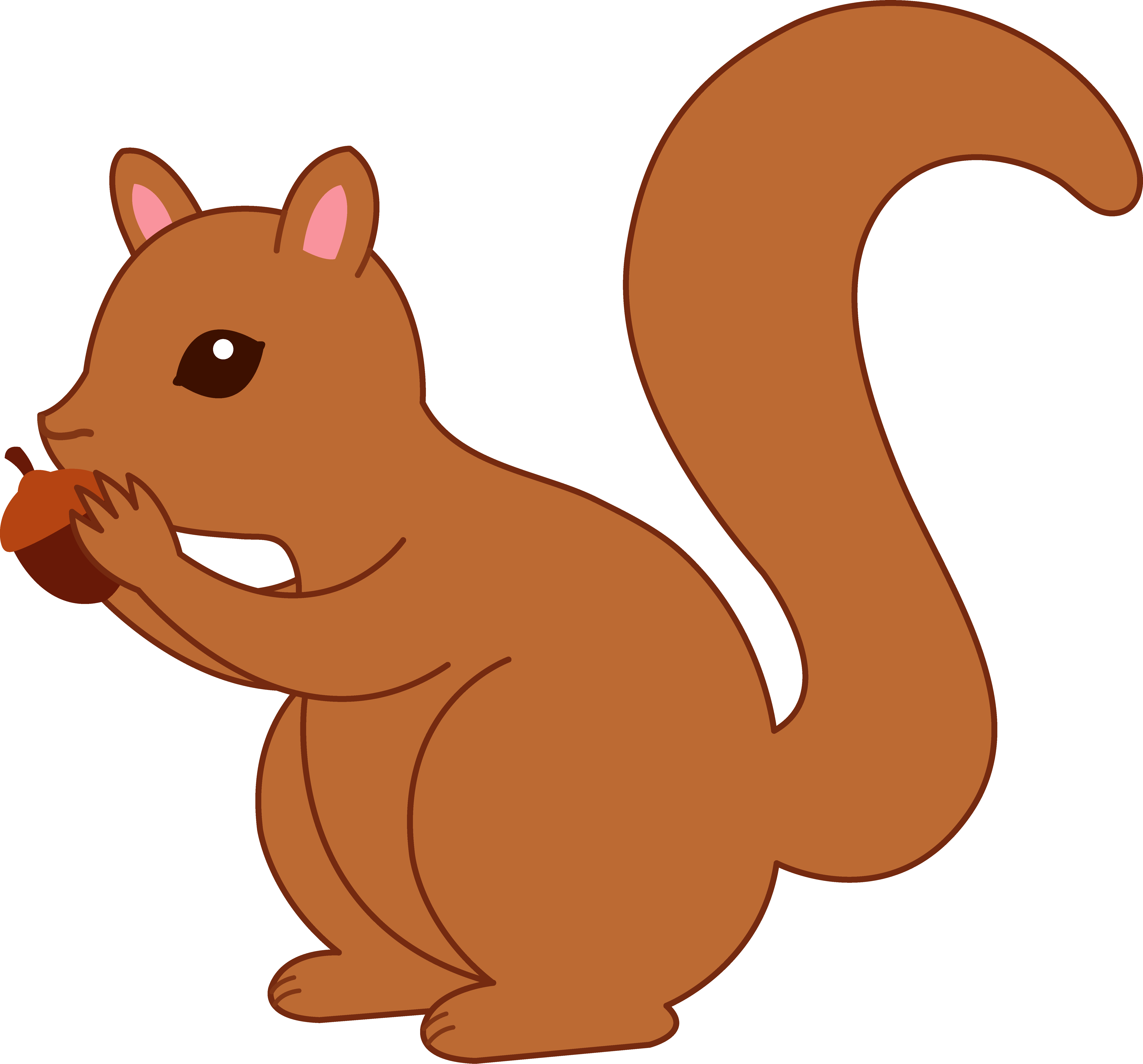 Funny Squirrel Clipart Clipart Panda Free Clipart Images